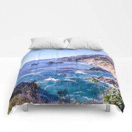 California Dreamin - Big Sur Comforters