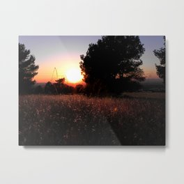Yesterday's bed Metal Print