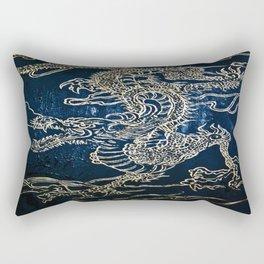 Enter the Dragon Rectangular Pillow