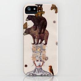 Bear Skin iPhone Case