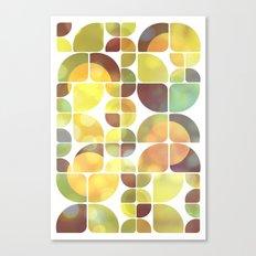 Sunny day pattern Canvas Print
