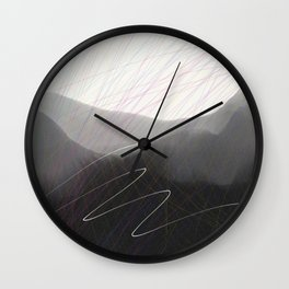 Flight Path Wall Clock