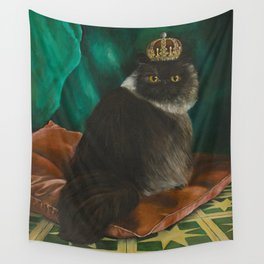 DONETE, A FANCY CHOCOLATE PERSIAN CAT Wall Tapestry