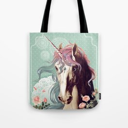 Unicorns live forever Tote Bag