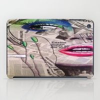 newspaper iPad Cases featuring NewsPaper  by cchelle135