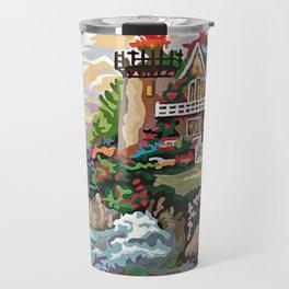 Fantasy Lighthouse Travel Mug