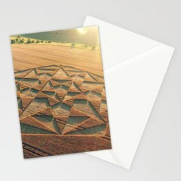 Crop Circle 2016 - Cherhill, Calstone, Wiltshire Stationery Cards