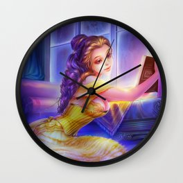 Sleepless Nights-Belle Wall Clock