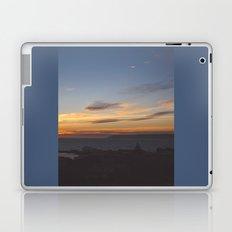 Sunset over Mana Island New Zealand Laptop & iPad Skin