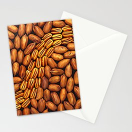 Pecan Swirl Stationery Cards