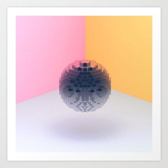 Disco Art Print