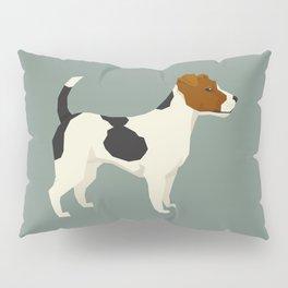 Jack Russell Green Bay Pillow Sham