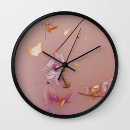 Harry Styles - flowers Wall Clock