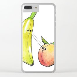 Fruit Love Clear iPhone Case