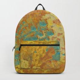 Autumn and Aqua Garden Backpack