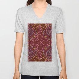 seamless pattern Unisex V-Neck