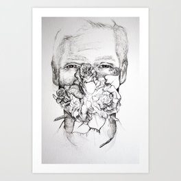 Apologies Art Print