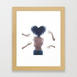 Goddess Love Dance Framed Art Print