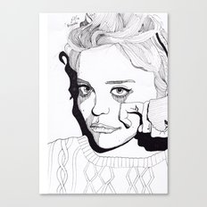 Sky Ferreira Canvas Print