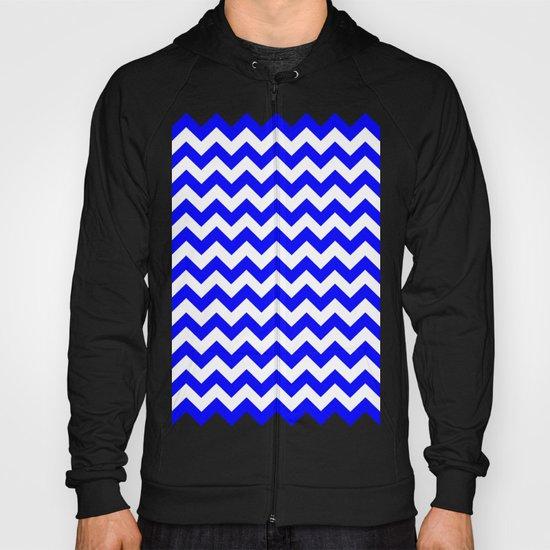 Chevron (Blue/White) Hoody