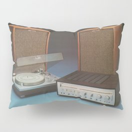 Vintage Speakers 1 Pillow Sham