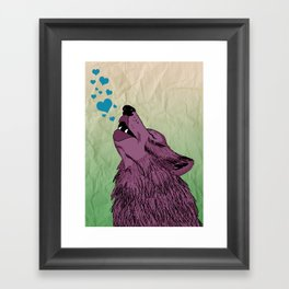 Howlin' for your Love Framed Art Print