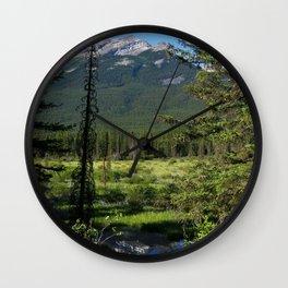 Beautiful Bow Valley Wall Clock