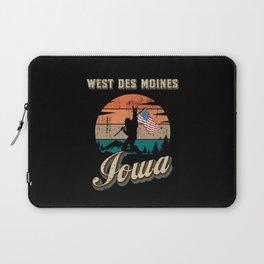 West Des Moines Iowa Laptop Sleeve