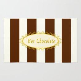 Hot Chocolate Antique Rug