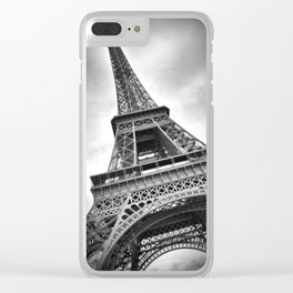 PARIS Eiffel Tower Clear iPhone Case