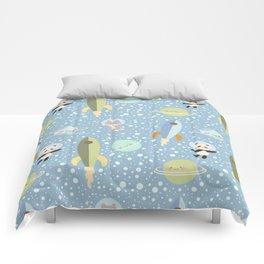 Space Adventure 4 Comforters