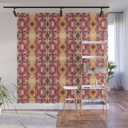 Pomegranate Seeds Pattern Wall Mural