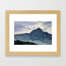 Tai Hang Mountain Framed Art Print