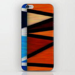 Lined Abstract iPhone Skin