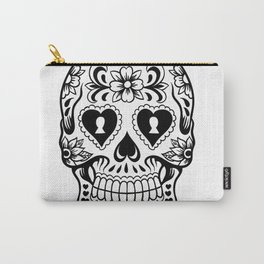 Sugar Skull Art, Sugar Skulls Carry-All Pouch