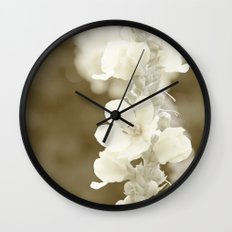 Vintage flower Wall Clock
