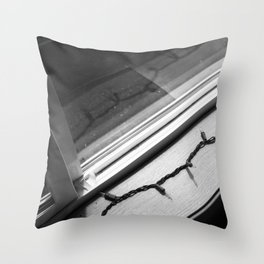 BW52 String Lights Throw Pillow
