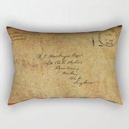 Cute as a button Rectangular Pillow