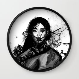 Kim Sung Hee Wall Clock