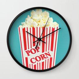 Pop Corn Wall Clock
