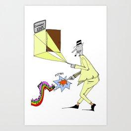 Mr. Tuteline  Art Print