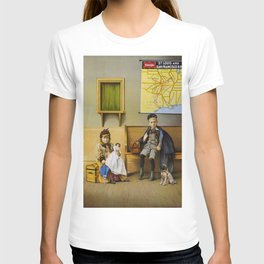 Vintage poster - Waiting Room T-shirt