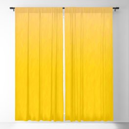 Golden orange and honey yellow ombre flames texture Blackout Curtain
