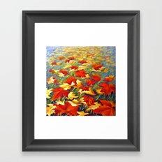 Luxury of Fall Framed Art Print