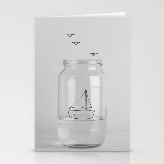 Sail with me Stationery Cards