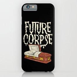 Future Corpse Pastel Goth Aesthetic Occult Coffin iPhone Case