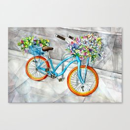 Cheerful Ride Canvas Print