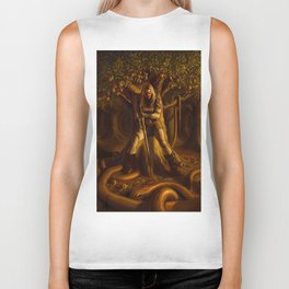 The Serpent and the Rose Biker Tank