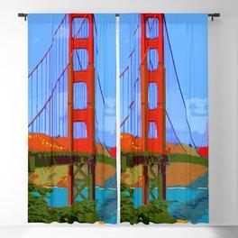 Golden Gate Bridge 009 Blackout Curtain