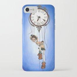 Puppet time ~ Marionetas del tiempo iPhone Case